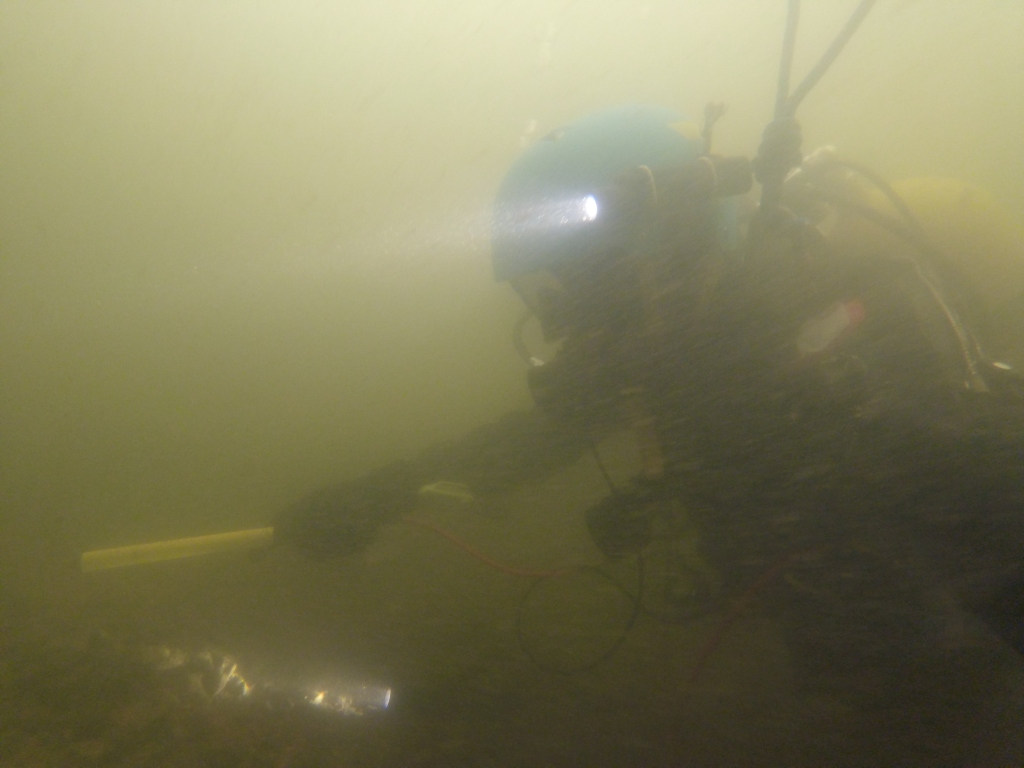 Search and recovery Diving