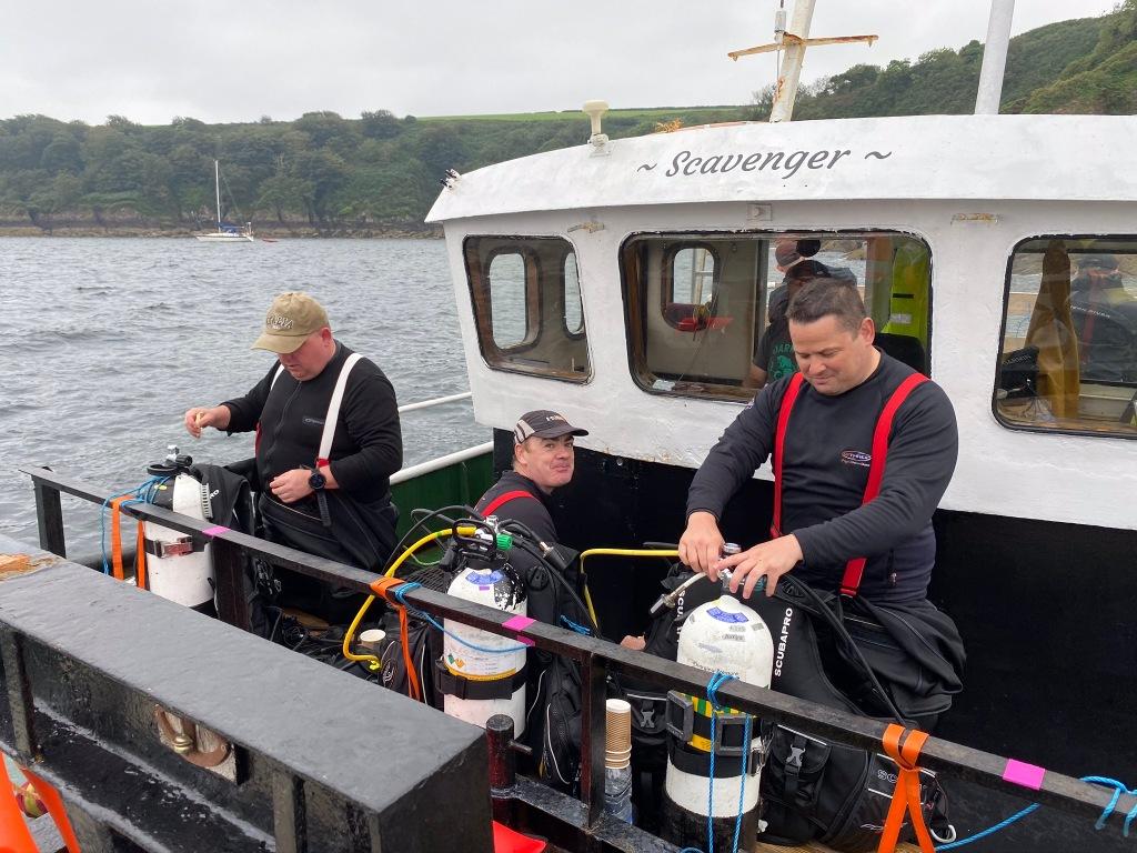 Scavenger Dive Boat
